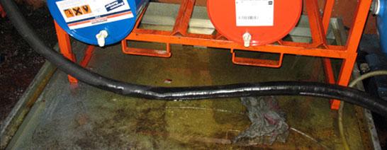 TAK Umweltservice - Industrieservice - Reinigung nach Ölschaden