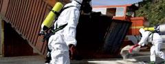 Bewältigung von Ölunfällen